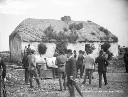 eviction-scene-at-the-house-of-john-connell-moyasta-coclare